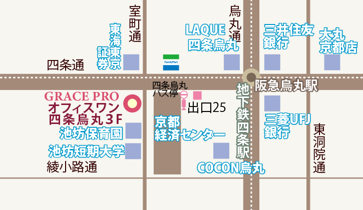 gracepro.jp グレースプロアクセスマップ